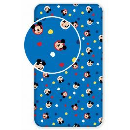 Jerry Fabrics Bavlněné prostěradlo Mickey 04