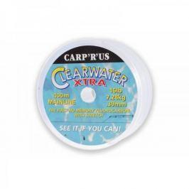 Carp ´R´ Us Clearwater XT fluorocarbon Čirý 400 m 0,39 mm, 16 lb Vlasce