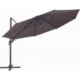 MAKERS Roma - boční slunečník 3,5 m, hnědý