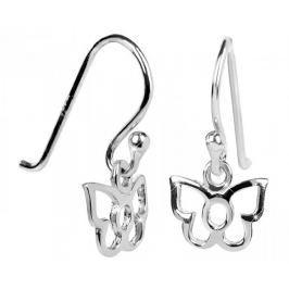 Brilio Silver Dětské stříbrné náušnice Motýlci 436 154 00242 04 - 0,30 g stříbro 925/1000