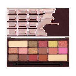Makeup Revolution Paletka očních stínů I Heart Makeup Chocolate Rose Gold 22 g