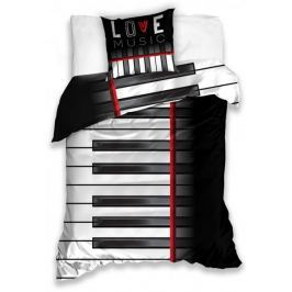 BedTex Povlečení Piano 140x200+70x90 cm