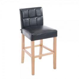 BHM Germany Barová židle Emanuel, černá