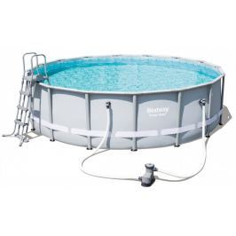 Bestway 4.88 m x 1.22 m Power Steel Frame Pool Set s kartušovou filtrací