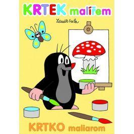 Miler Zdeněk: Krtek malířem - omalovánky A4