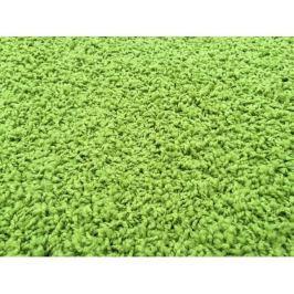 Kusový koberec Color Shaggy zelený, průměr 120 cm Kusové
