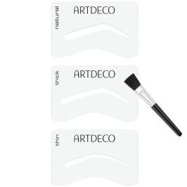 Artdeco Šablony na obočí se štětečkem (Eyebrow Stencils with Brush Applicator)