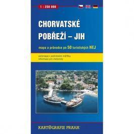 Chorvatské pobřeží - jih, 1:250 000 (automapa)