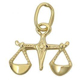 Brilio Zlatý přívěsek Váhy 241 001 00816 - 0,20 g zlato žluté 585/1000