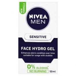Nivea Pleťový gel pro muže Sensitive (Hydro Gel) 50 ml