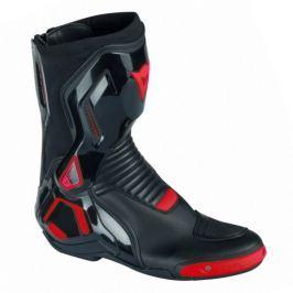 Dainese boty COURSE D1 OUT vel.44 černá/fluo-červená