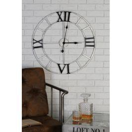 Papillon Nástěnné hodiny kovové Factory, 64 cm