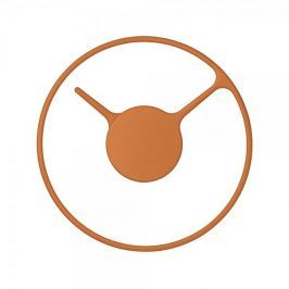 Stelton Nástěnné hodiny Stelton Time, 22 cm, oranžová