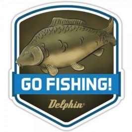 Delphin Nálepka Go Fishing Produkty