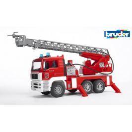 Bruder MAN TGA hasičské auto se světly a zvuky 1:16  - rozbaleno