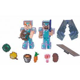 TM Toys Minecraft - Steve hardcore survival pack sběratelská figurka s doplňky
