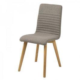 Design Scandinavia Jídelní židle Areta (SET 2 ks), šedá