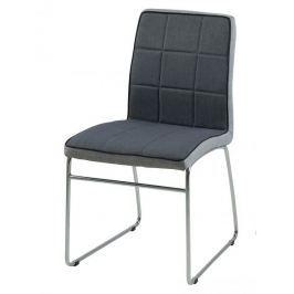 Design Scandinavia Jídelní židle Stina (SET 4 ks), tmavě šedá