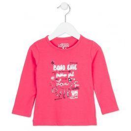 Losan dívčí tričko 92 růžová