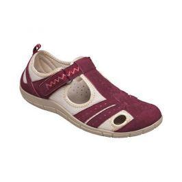 SANTÉ Zdravotní obuv dámská MDA/159-22 vínová (Velikost vel. 37)