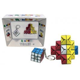 Rubik Rubikova kostka  přívěšek + skladánka Triamid
