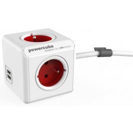 PowerCube Extended USB, červená, 1,5 m