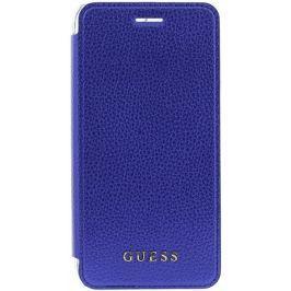 Guess Flipový kryt IriDescent (Apple iPhone 6/6S/7 Plus), modrá