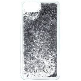Guess Kryt Liquid Glitter Hard (Apple iPhone 6/6S/7), stříbrná