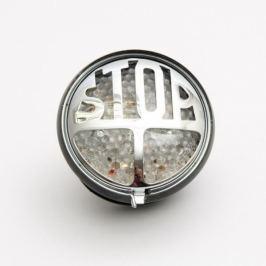 Highway-Hawk koncové moto světlo  STOP s LED, osvětlení SPZ, E-mark, černá (1ks)