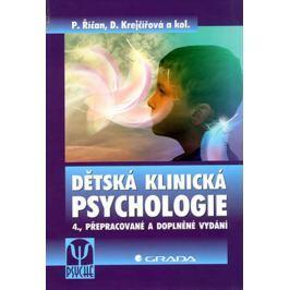 Říčan Pavel, Krejčířová Dana,: Dětská klinická psychologie