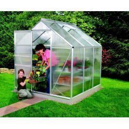 VITAVIA skleník VITAVIA VENUS 3800 PC 4 mm stříbrný