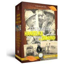 Cestovatelé Hanzelka a Zikmund (9DVD)   - DVD