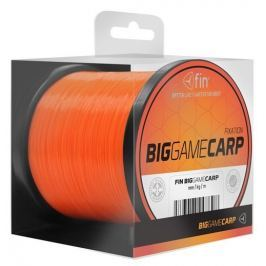 FIN Vlasec Big Game Carp Fluo Orange 0,25 mm, 9,3 lb