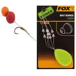 Fox Zarážky Edges Bait Bungs Clear 10 ks