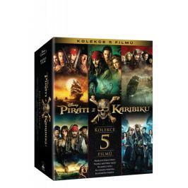 Piráti z Karibiku: Kolekce 1.-5. (5BD)   - Blu-ray
