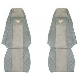 F-CORE Potahy na sedadla FX02, šedé
