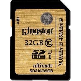 Kingston SDHC 32GB 90MB/s UHS-I (SDA10/32GB)