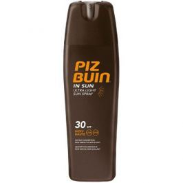 PizBuin Sprej na opalování SPF 30 (In Sun Ultra Light Sun Spray) 200 ml
