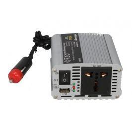 WHITENERGY Měnič napětí do auta 12/230 V, 150 W s USB