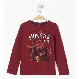 s.Oliver chlapecké tričko 92/98 červená Produkty