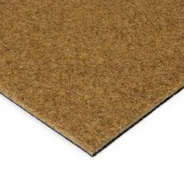 FLOMAT Hnědá kokosová zátěžová vstupní čistící zóna Synthetic Coco - 200 x 100 x 1 cm