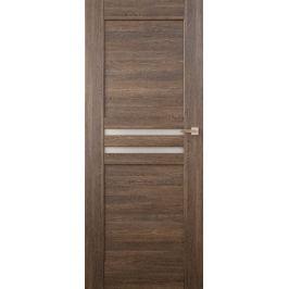 VASCO DOORS Interiérové dveře MADERA kombinované, model 4, Ořech, A