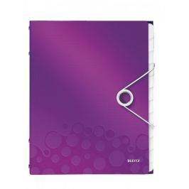 Rozdružovací kniha Leitz WOW 12ti dílná purpurová