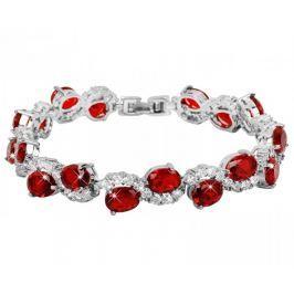 Troli Náramek s červenými krystaly