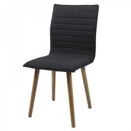 Design Scandinavia Jídelní židle Frida (SET 2 ks), tmavě šedá