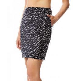 Timeout dámská sukně po kolena 34 tmavě modrá