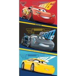 Jerry Fabrics Osuška Cars 3 70x140 cm