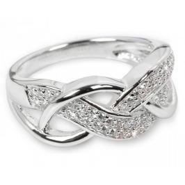 Silver Cat Stříbrný prsten s krystaly SC109 (Obvod 58 mm) stříbro 925/1000