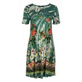 Desigual dámské šaty Eleonor XS zelená