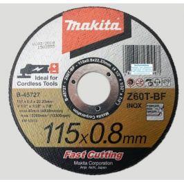 Makita Kotouč řezný kov 115x0,8x22,23 Z60T-BF